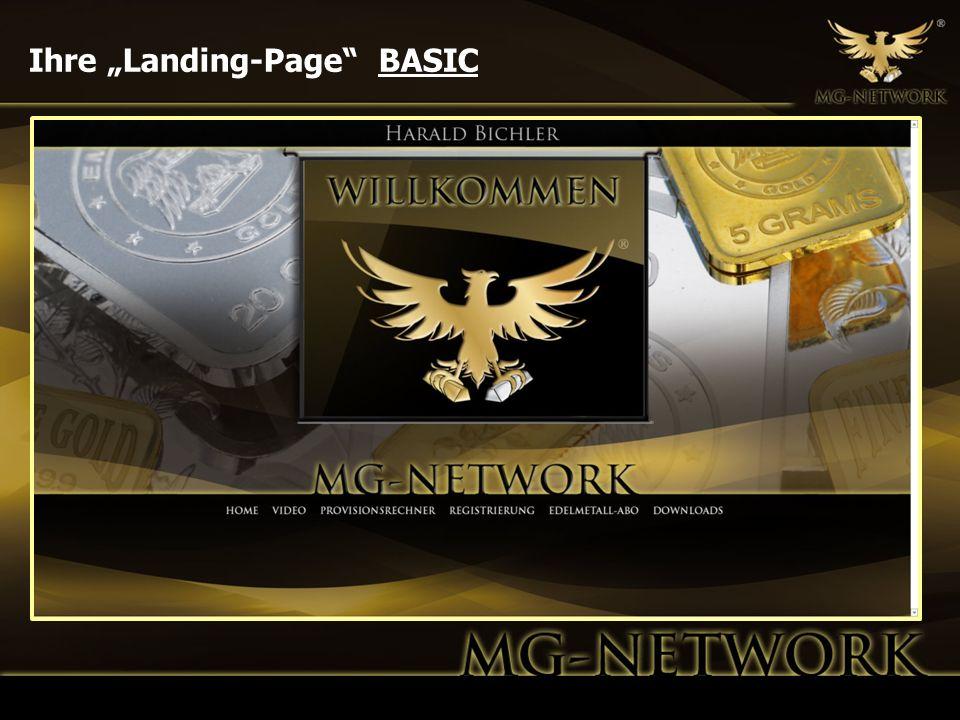 Ihre Landing-Page BASIC