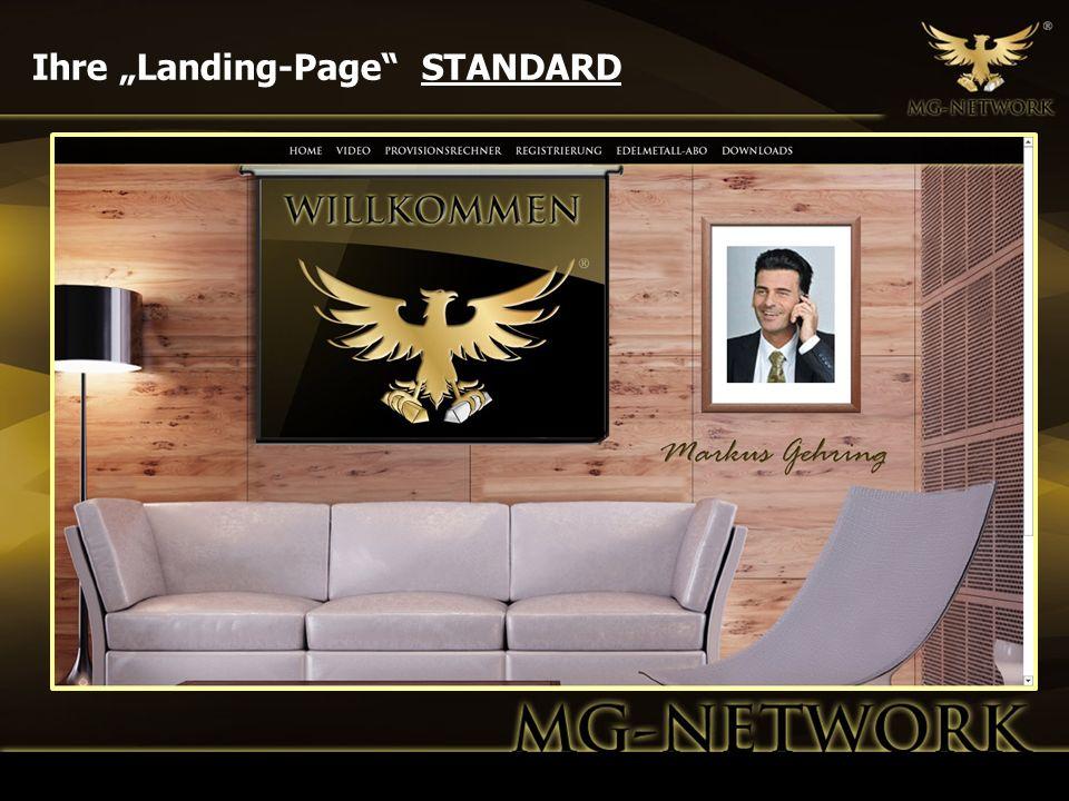 Ihre Landing-Page STANDARD