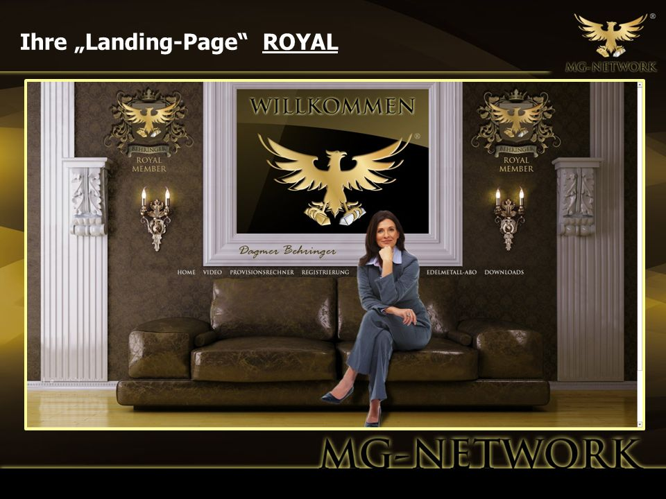Ihre Landing-Page ROYAL