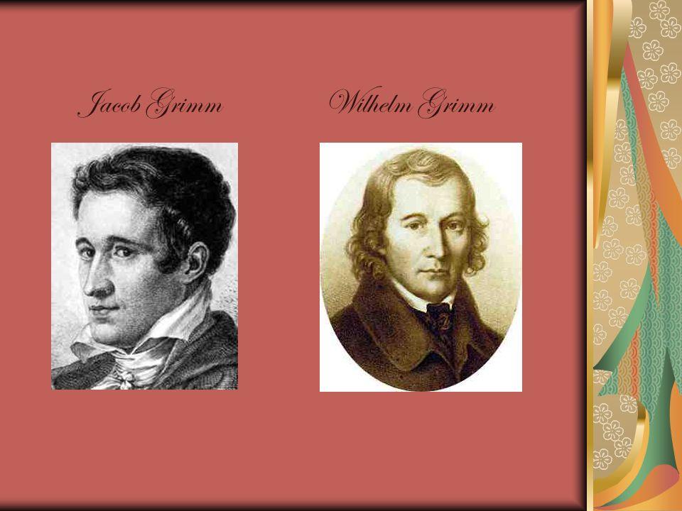 Jacob Grimm Wilhelm Grimm