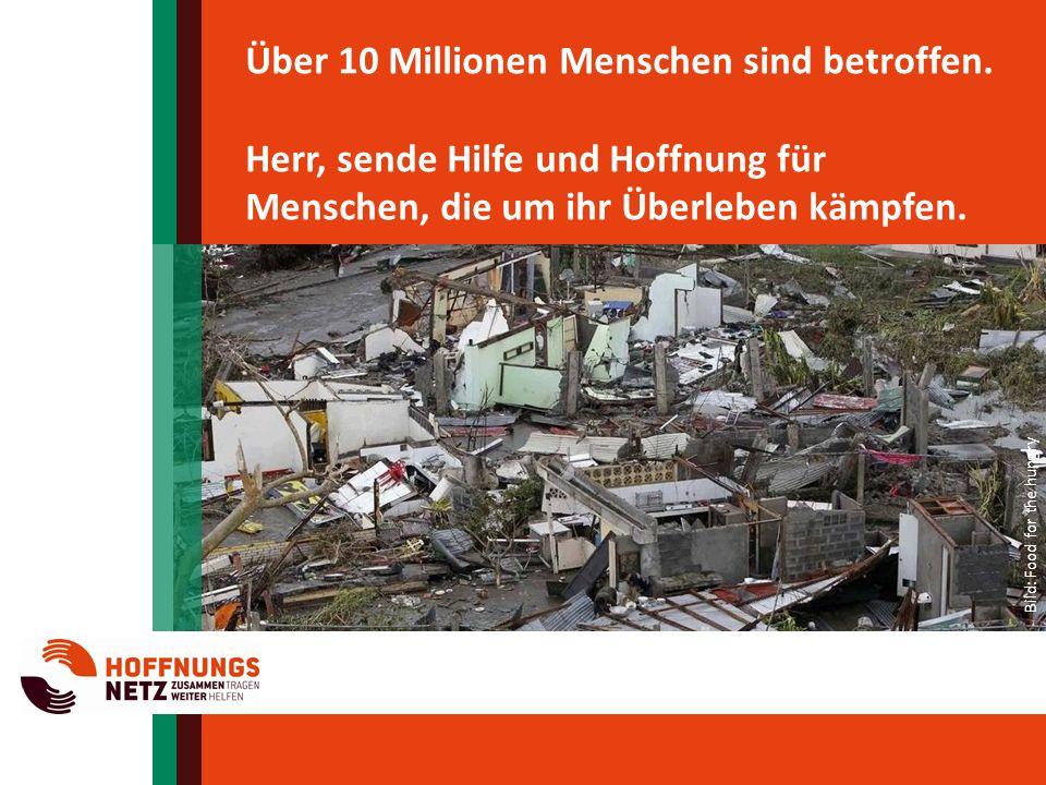 Über 10 Millionen Menschen sind betroffen.