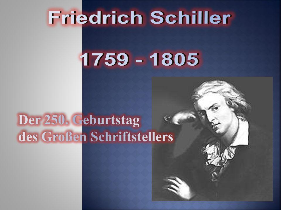 Geburtshaus Friedrich Schiller wurde am 10.