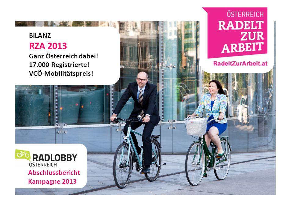 dd ff BILANZ RZA 2013 Ganz Österreich dabei.17.000 Registrierte.