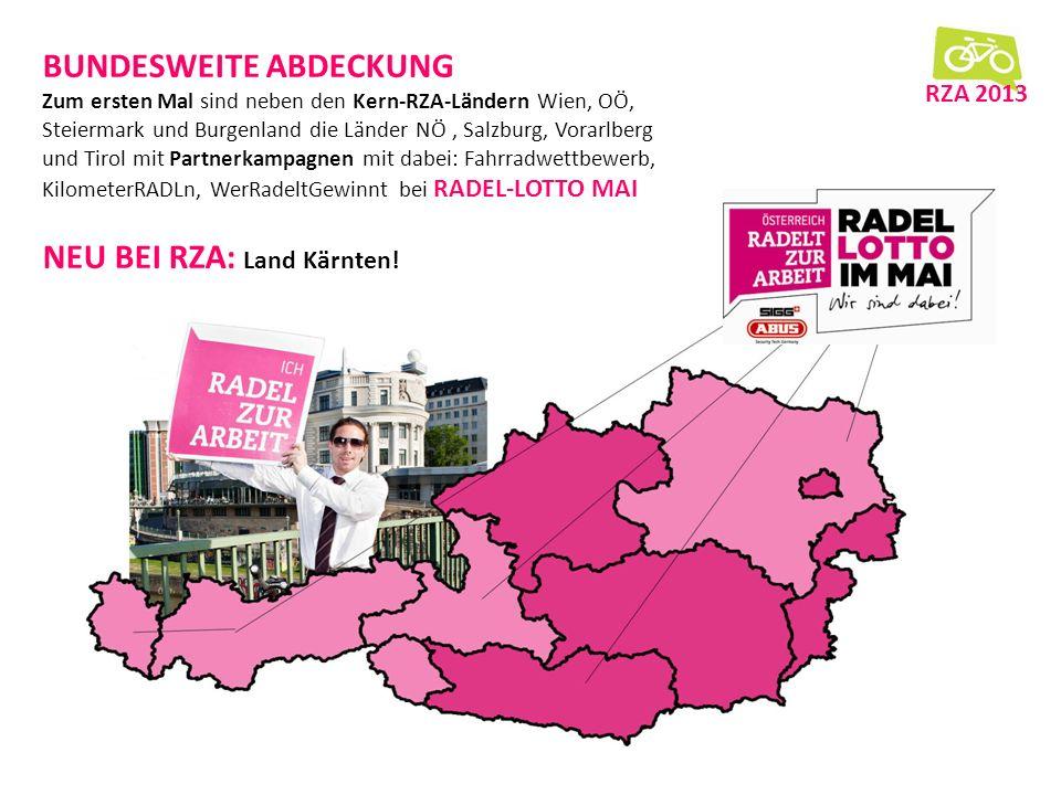 dd ff BILANZ RZA 2013 Ganz Österreich dabei. 17.000 Registrierte.