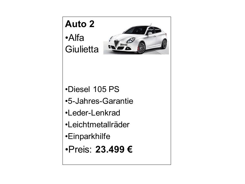 Auto 3 Audi A3 Sportback Benzin 136 PS Sitzheizung Leder-Sitze Glasdach Navigationssystem Preis: 23.499