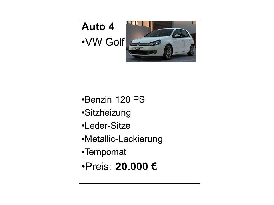 Auto 5 BMW 1er Diesel 116 PS Xenon-Scheinwerfer Armatur Leichtmetallräder Start Stop Automatik Preis: 29.999