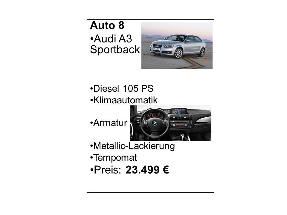 Auto 9 Alfa Giulietta Benzin 120 PS Xenon-Scheinwerfer Leder-Sitze Metallic-Lackierung Navigationssystem Preis: 20.000