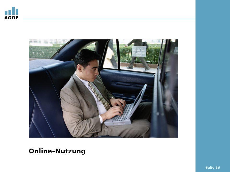 Seite 36 Online-Nutzung