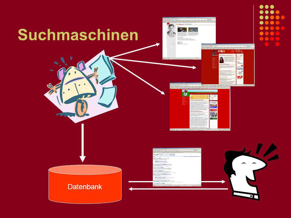 Suchmaschinen Datenbank