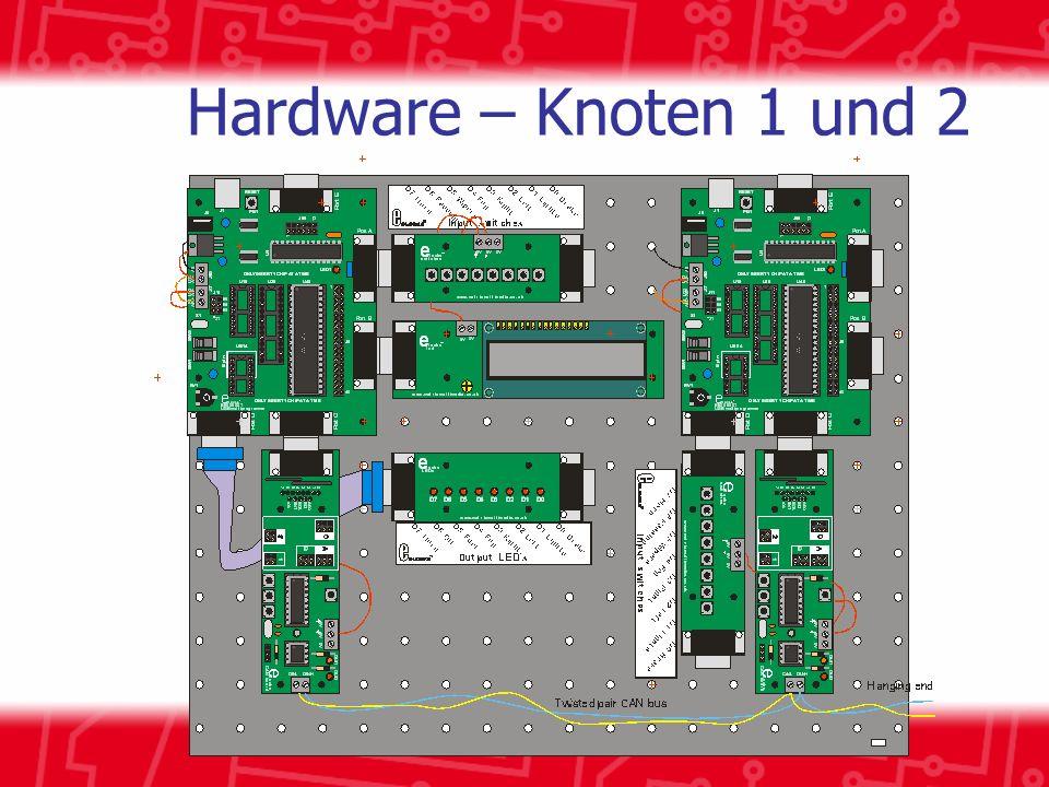 Hardware – Knoten 1 und 2