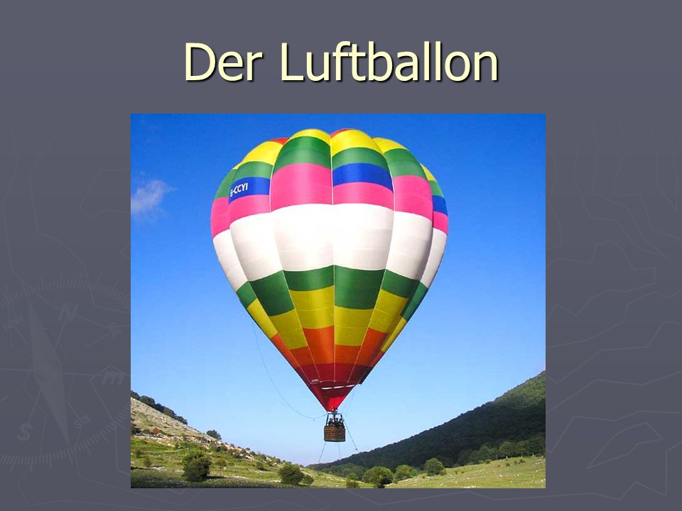 Der Luftballon