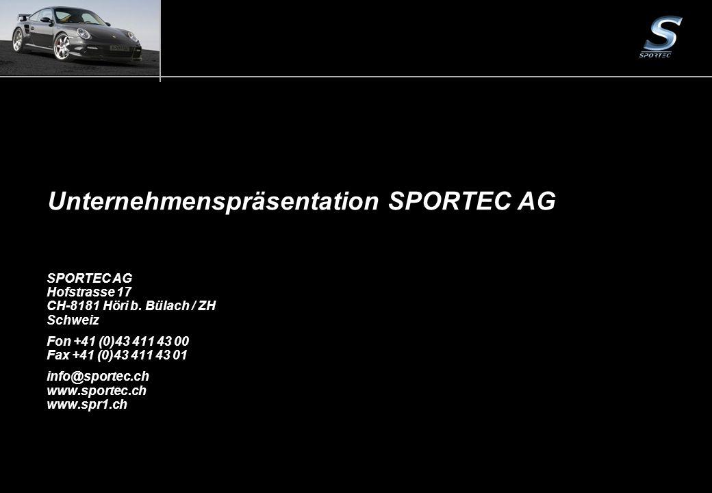 Seite 1Unternehmenspräsentation SPORTEC AG SPORTEC AG Hofstrasse 17 CH-8181 Höri b. Bülach / ZH Schweiz Fon +41 (0)43 411 43 00 Fax +41 (0)43 411 43 0