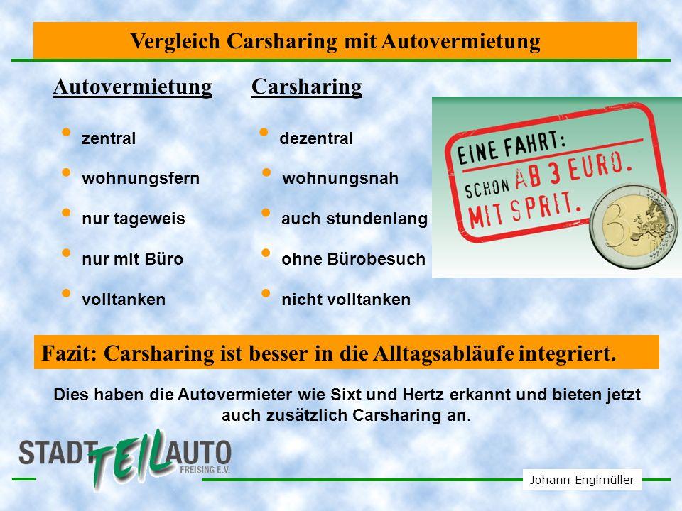 Johann Englmüller Das teure Privatauto Festkosten pro Jahr Quelle: Deutsche Automobil Treuhand Ein Privatauto ist so teuer wie ein Haus.