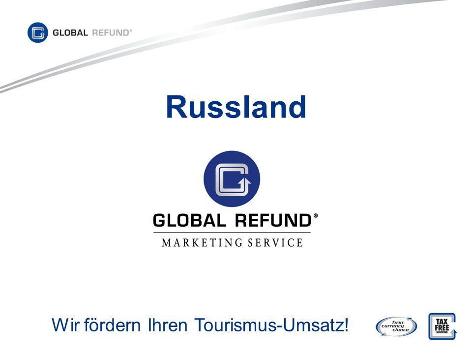 Russland Wir fördern Ihren Tourismus-Umsatz!