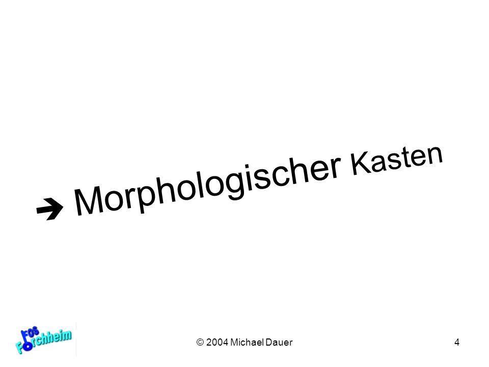 4 Morphologischer Kasten