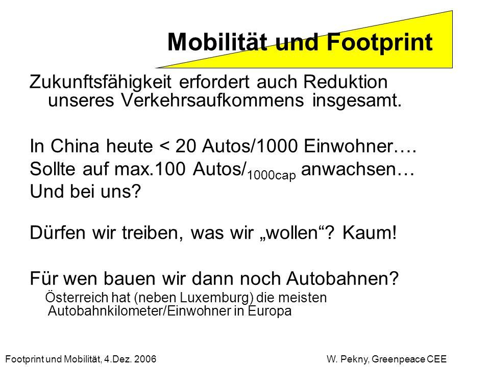 Zukunftsfähigkeit erfordert auch Reduktion unseres Verkehrsaufkommens insgesamt. In China heute < 20 Autos/1000 Einwohner…. Sollte auf max.100 Autos/