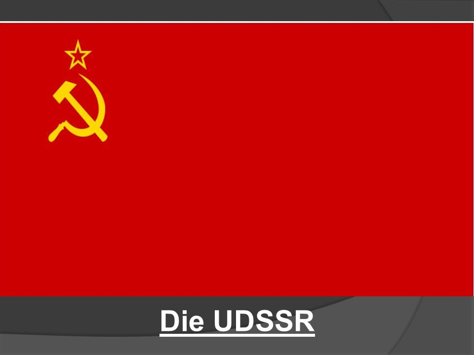 Die UDSSR