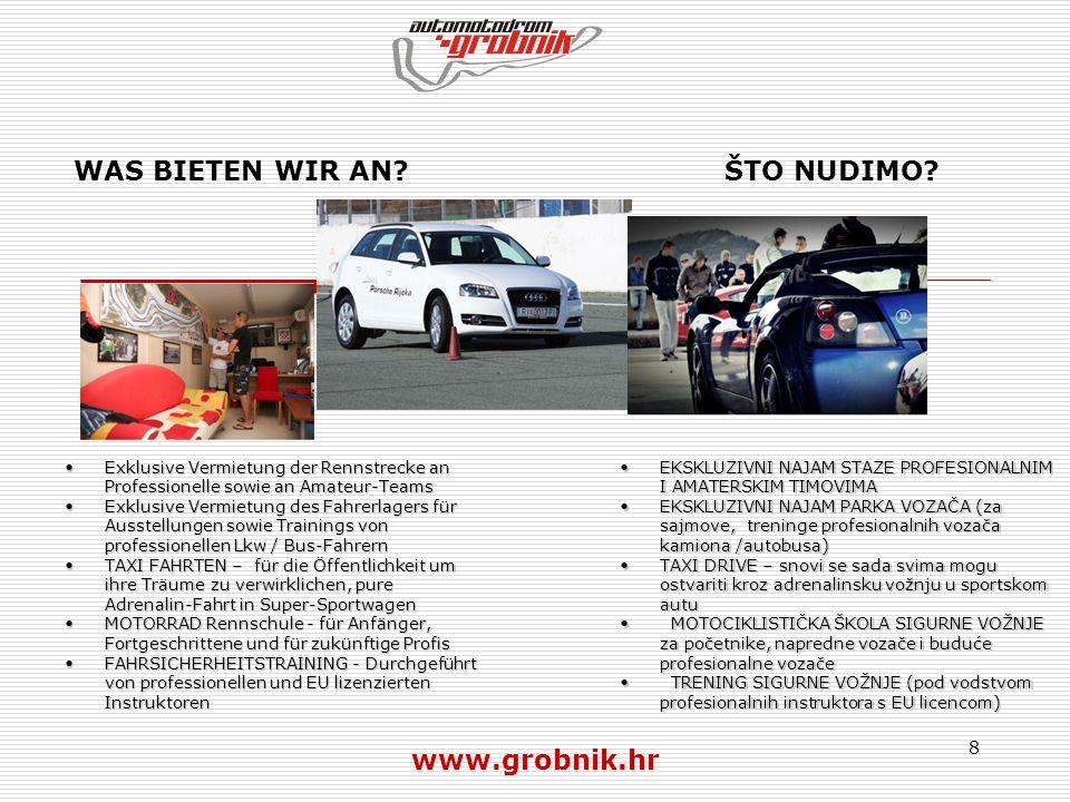 9 EXKLUSIVE RENNSTRECKEN VERMIETUNG – FÜR PROFI- UND AMATEUR VERANSTALTUNGEN AUTO, MOTORRAD, Bus, LKW...
