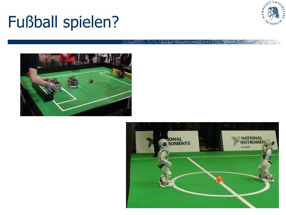 Fußball spielen?