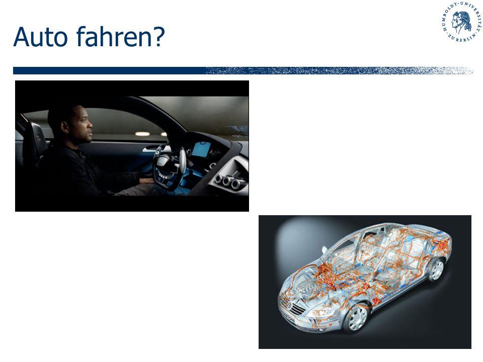Auto fahren?