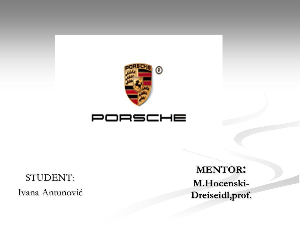 Die Geschichte von Porsche Ferdinand Porsche ist der Gründer von Porsche Ferdinand Porsche ist der Gründer von Porsche Anfang des 20.