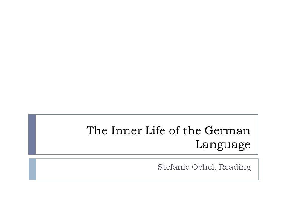 Plan Einführung, Idee Wie unterscheidet sich das Deutsche vom Englischen.