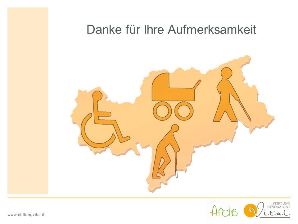 www.stiftungvital.it Danke für Ihre Aufmerksamkeit