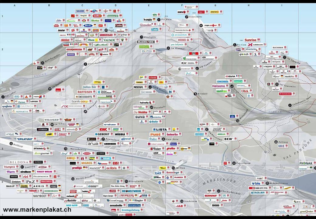 Marketing und Markenführung im Tourismus 19 Fazit: Die Schweiz ist voller starker Marken, die den Wettbewerb nicht zu scheuen brauchen www.markenplaka