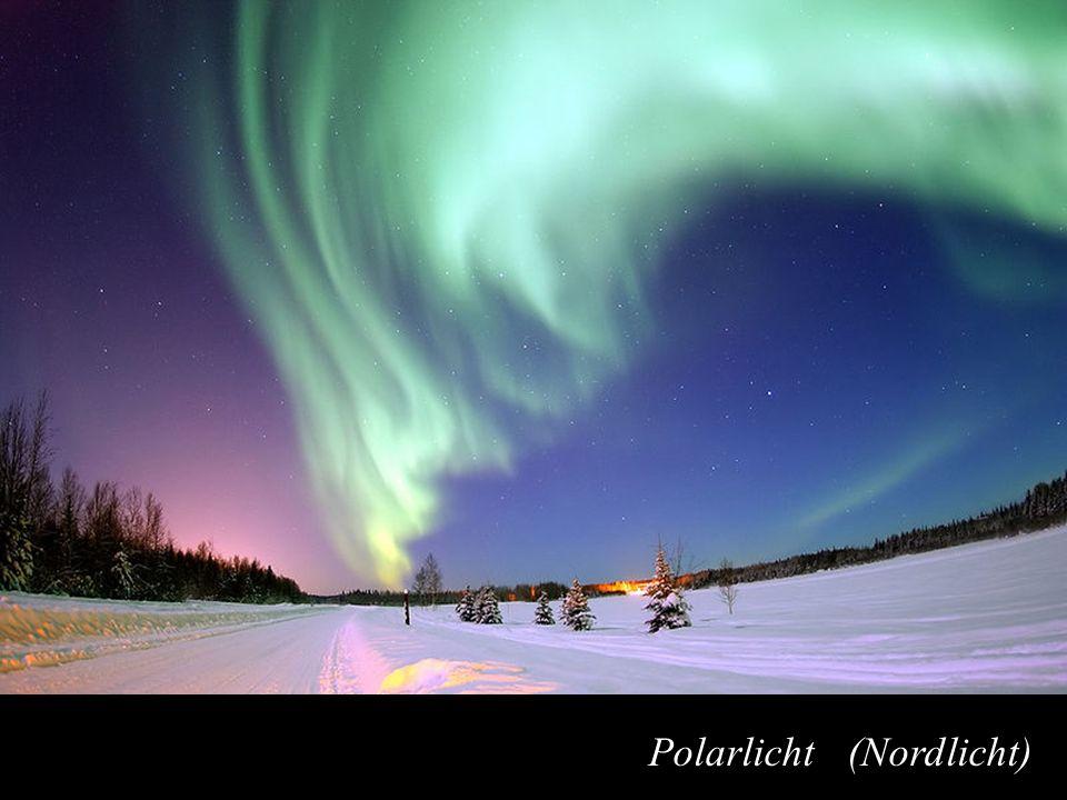 Manfred Jeitler, Institut für Hochenergiephysik Wer ist am schnellsten? 21 21 Polarlicht (Nordlicht)