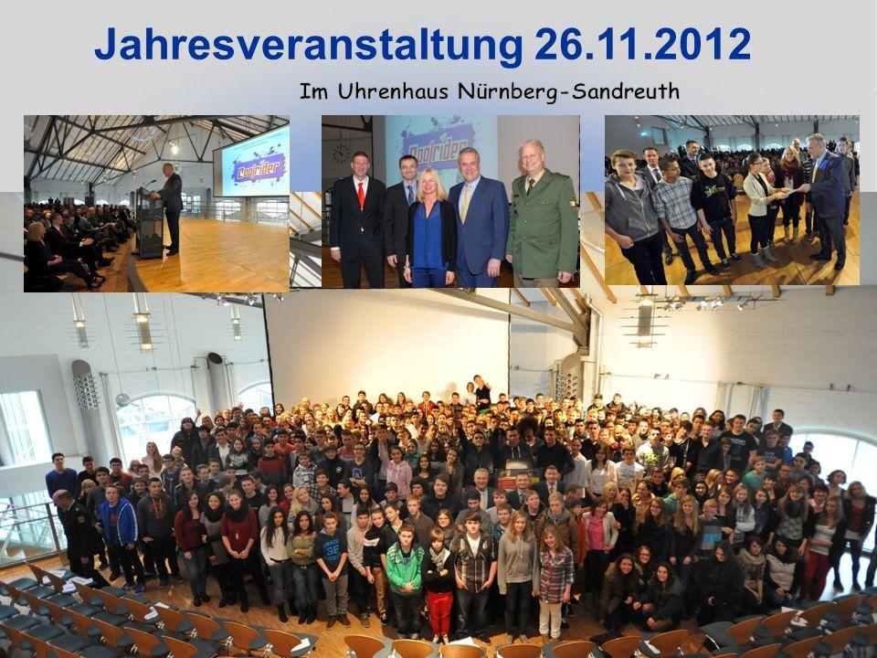 Jahresveranstaltung 26.11.2012