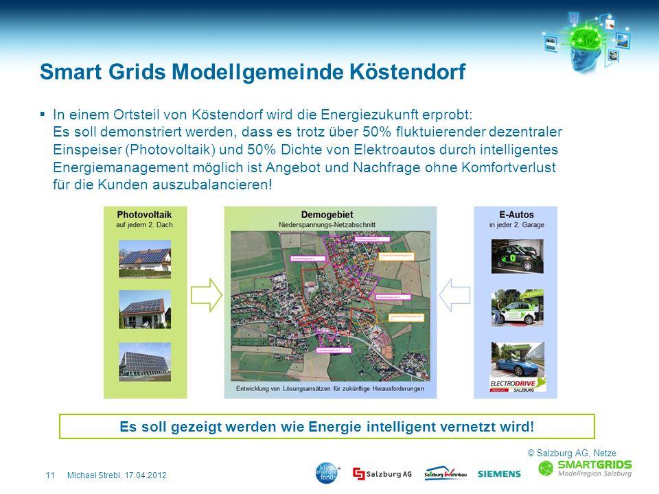 11Michael Strebl, 17.04.2012 In einem Ortsteil von Köstendorf wird die Energiezukunft erprobt: Es soll demonstriert werden, dass es trotz über 50% flu