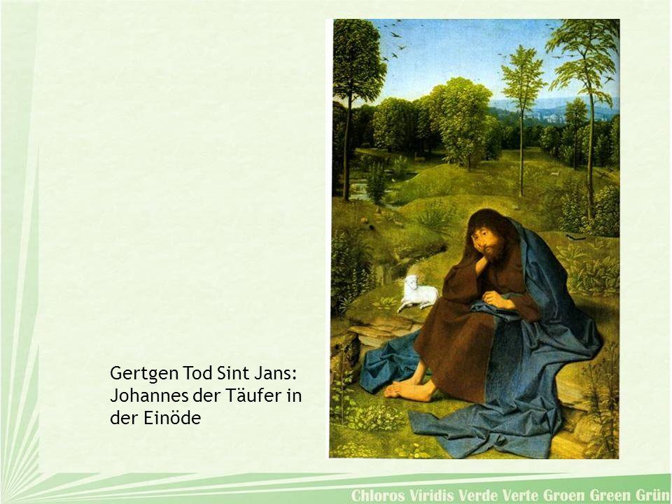 Gertgen Tod Sint Jans: Johannes der Täufer in der Einöde