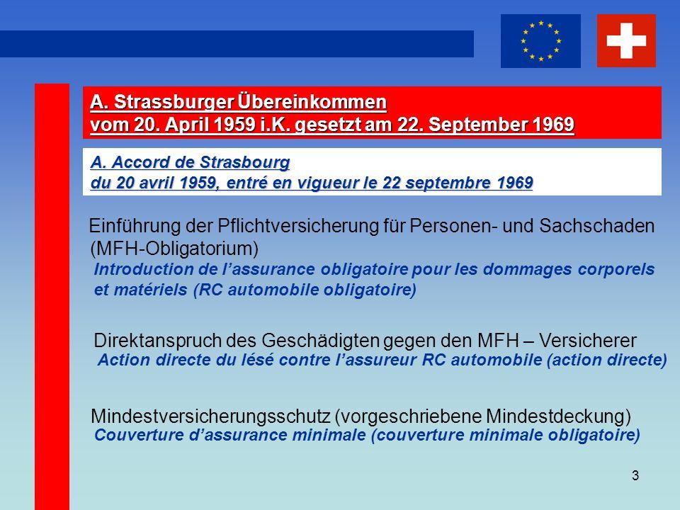3 A. Strassburger Übereinkommen vom 20. April 1959 i.K.