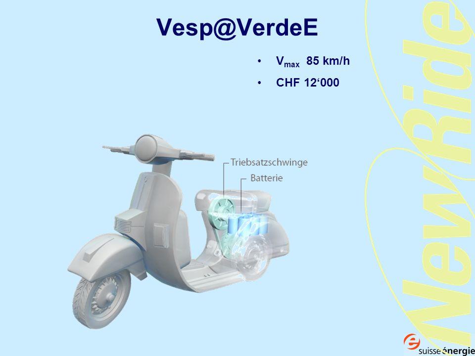 Vesp@VerdeE V max 85 km/h CHF 12000