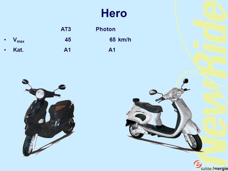 Hero AT3Photon V max 4565km/h Kat. A1A1