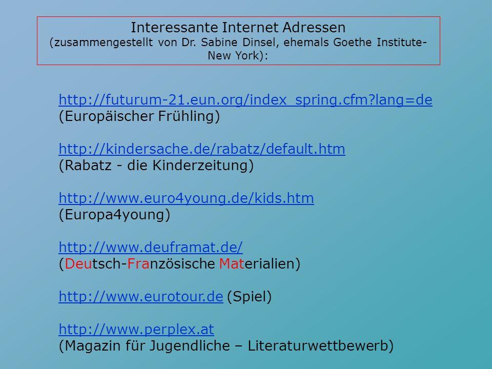 Alle Sprachen: FLTEACH teacher pages (http://www.geocities.com/Paris/LeftBank/9806/http://www.geocities.com/Paris/LeftBank/9806/ flteacherspgs.html)fl