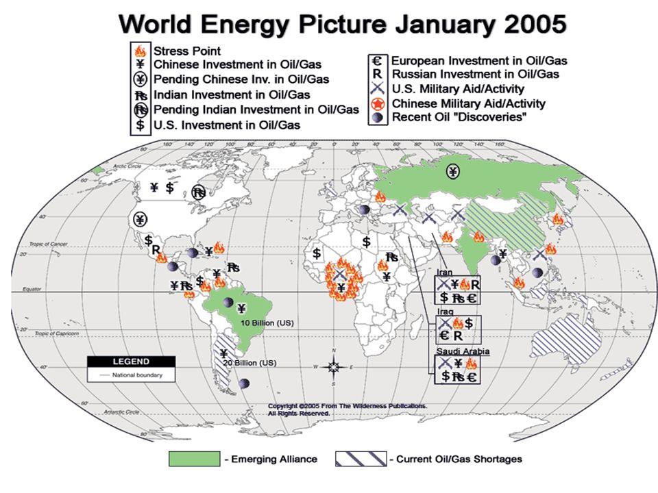 Regionale Verteilung des Gesamtpotenzials an konventionellem Erdöl