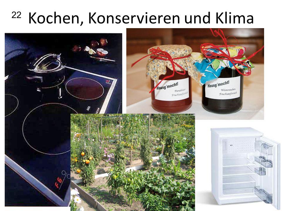 Kochen, Konservieren und Klima 22