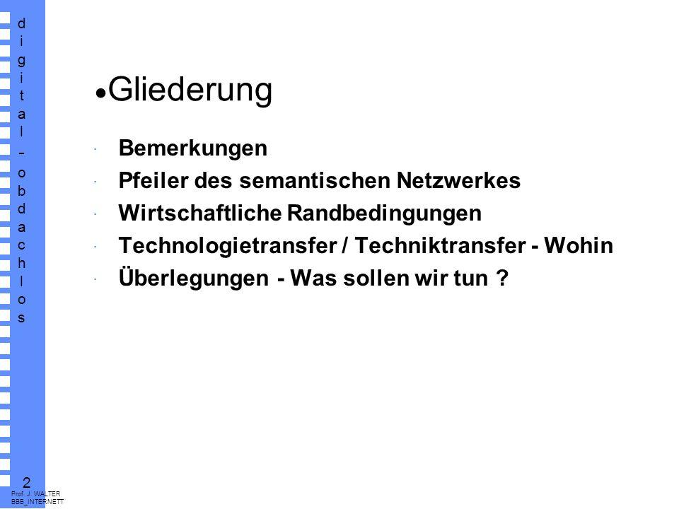 digital-obdachlosdigital-obdachlos 1 Prof. J. WALTER BBB_INTERNETT J.