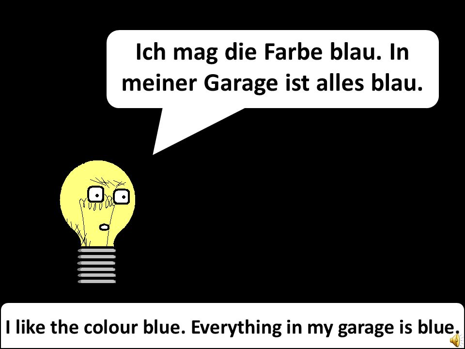 Everything in the garage is mine! Possessives with Miss Remotely Angry Lightening-Bulb