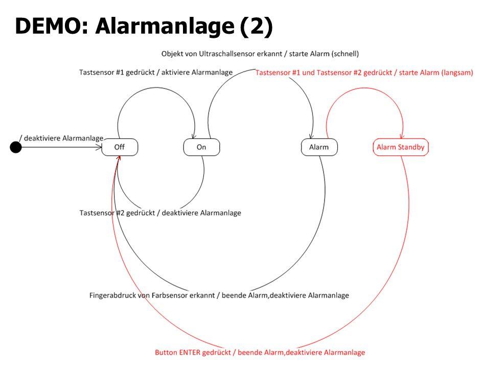 DEMO: Alarmanlage (2)