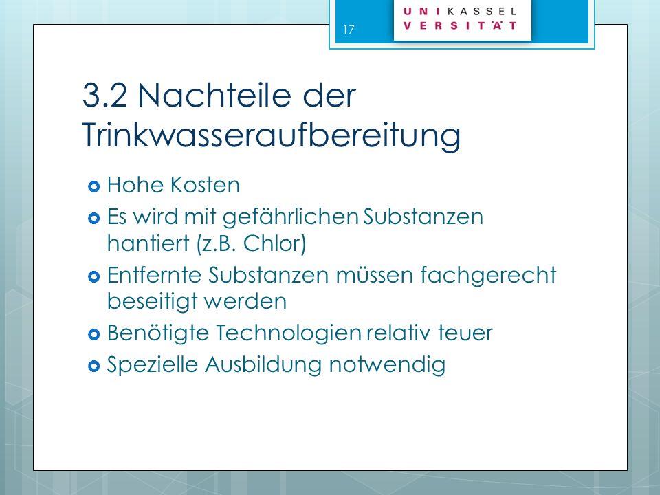 4.Trinkwasserverteilung Das Wasserverteilungsnetz in Deutschland ist ungefähr 400.000 km lang.