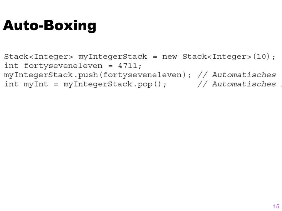 Auto-Boxing 15