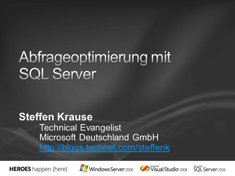 Steffen Krause Technical Evangelist Microsoft Deutschland GmbH http://blogs.technet.com/steffenk