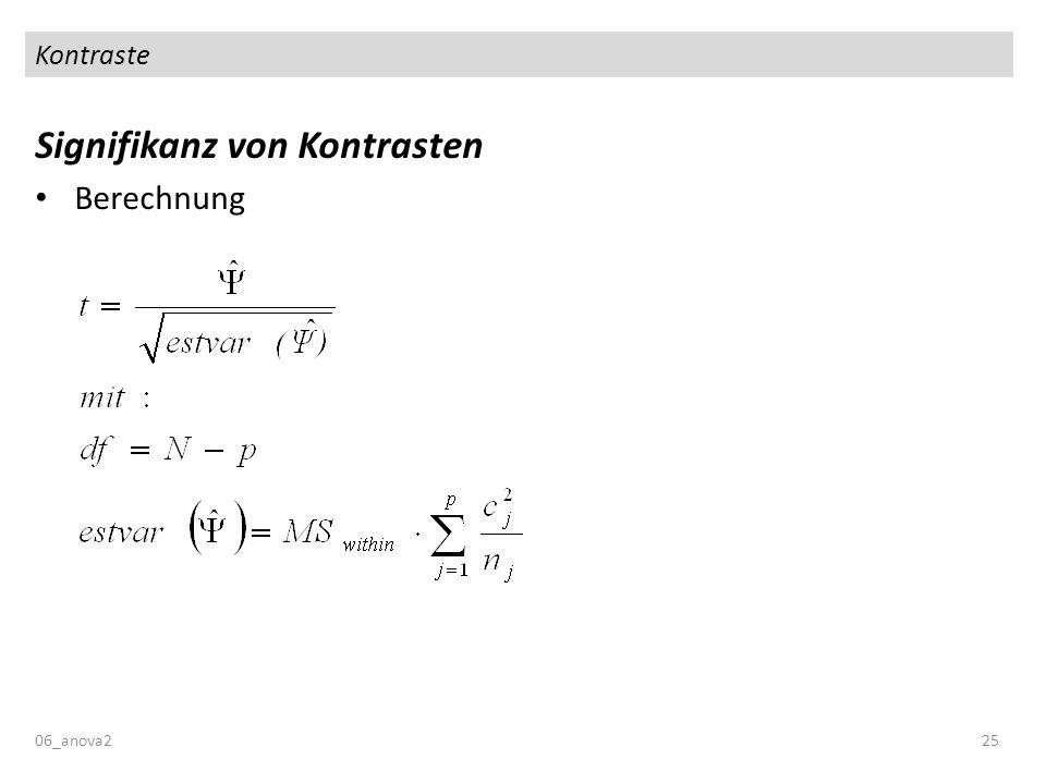 Kontraste Signifikanz von Kontrasten Berechnung 06_anova225