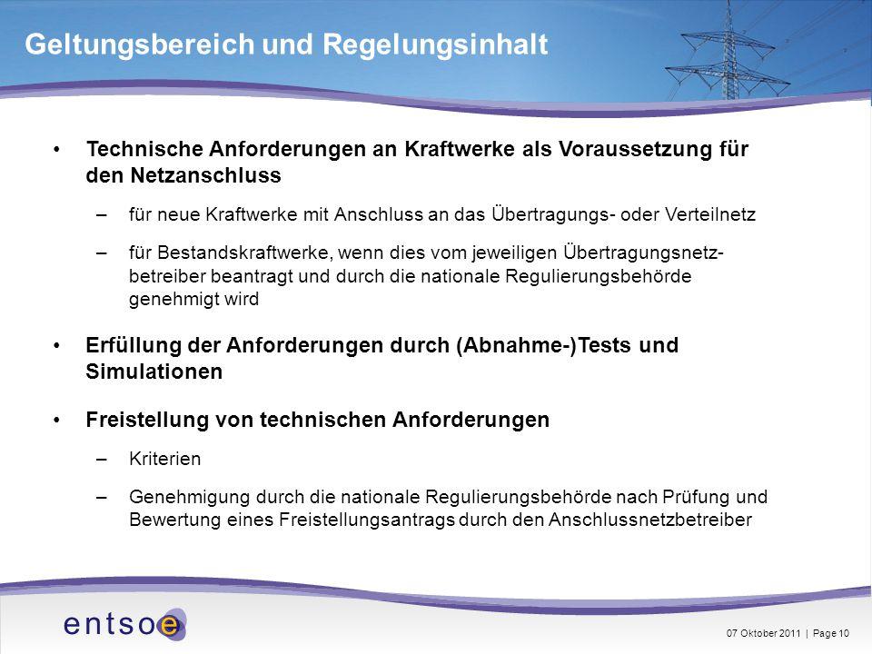Technische Anforderungen an Kraftwerke als Voraussetzung für den Netzanschluss –für neue Kraftwerke mit Anschluss an das Übertragungs- oder Verteilnet
