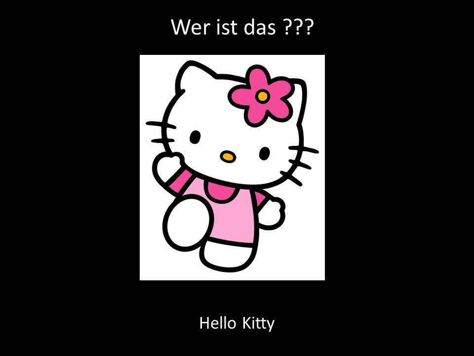 Wer ist das ??? Hello Kitty