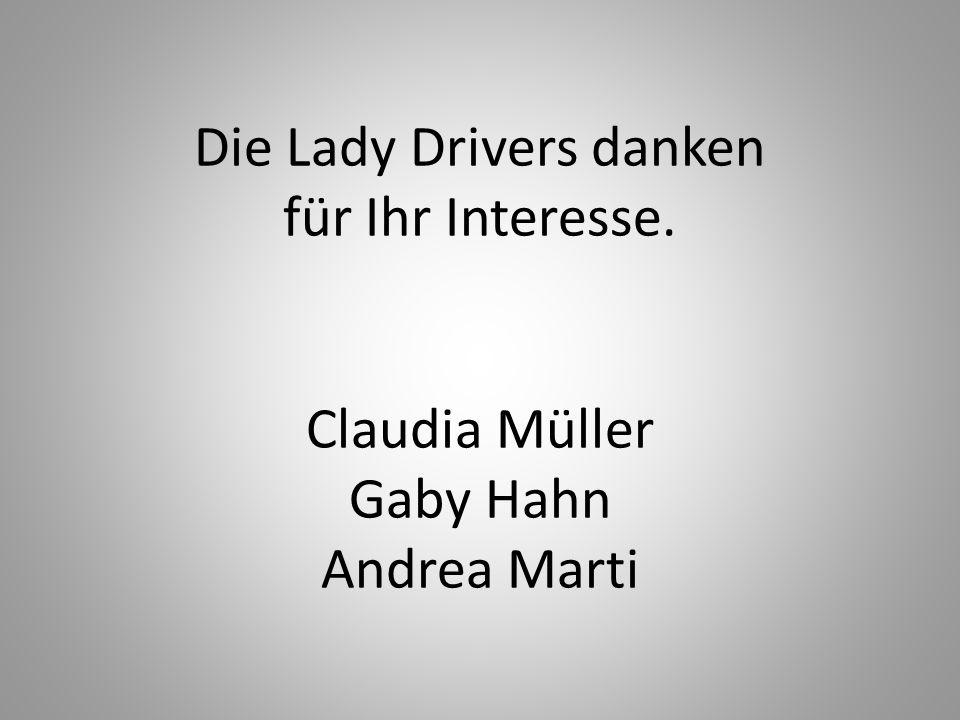 Claudia Müller Präsidentin Lady Drivers Warum ich.