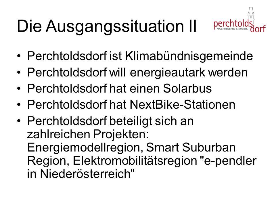 Perchtoldsdorf ist Klimabündnisgemeinde Perchtoldsdorf will energieautark werden Perchtoldsdorf hat einen Solarbus Perchtoldsdorf hat NextBike-Station