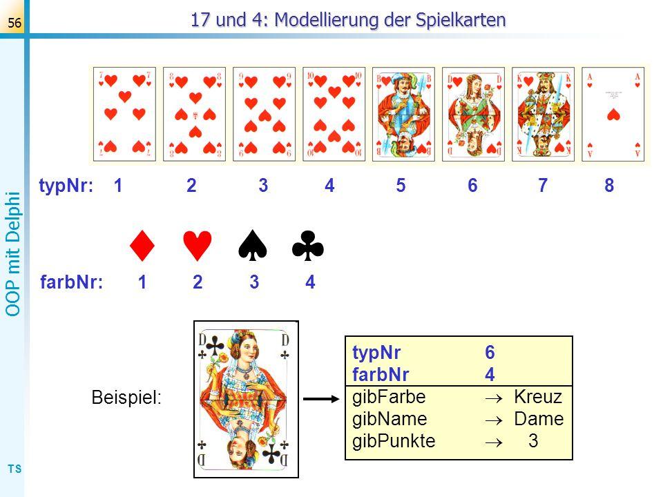 TS OOP mit Delphi 57 Modellierung des Kartenstapels Methoden?